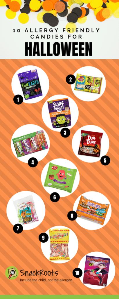 Allergy Safe Halloween Candy