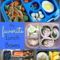 My Favorite Lunch Boxes For Kids