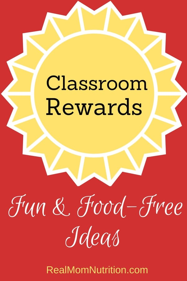 15 Fun & Food-Free Ideas for Classroom Rewards w/ FREE printable!