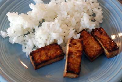 Baked Tofu Sticks