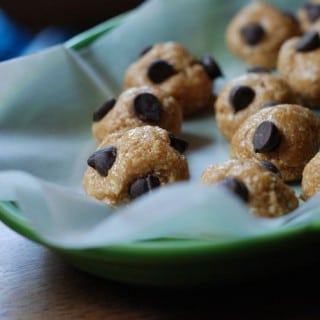 No bake cookie balls