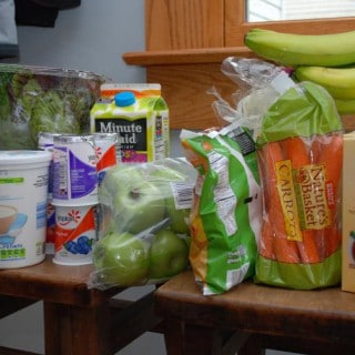 Pantry Challenge: Week #1 Shopping Trip & Meal Plan