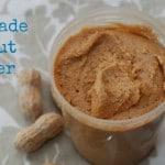 Homemade Peanut Butte