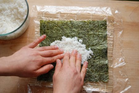 How To Make Simple Sushi Rolls 10