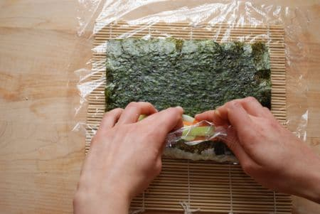 How To Make Simple Sushi Rolls 22