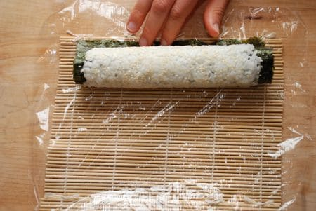 How To Make Simple Sushi Rolls 26