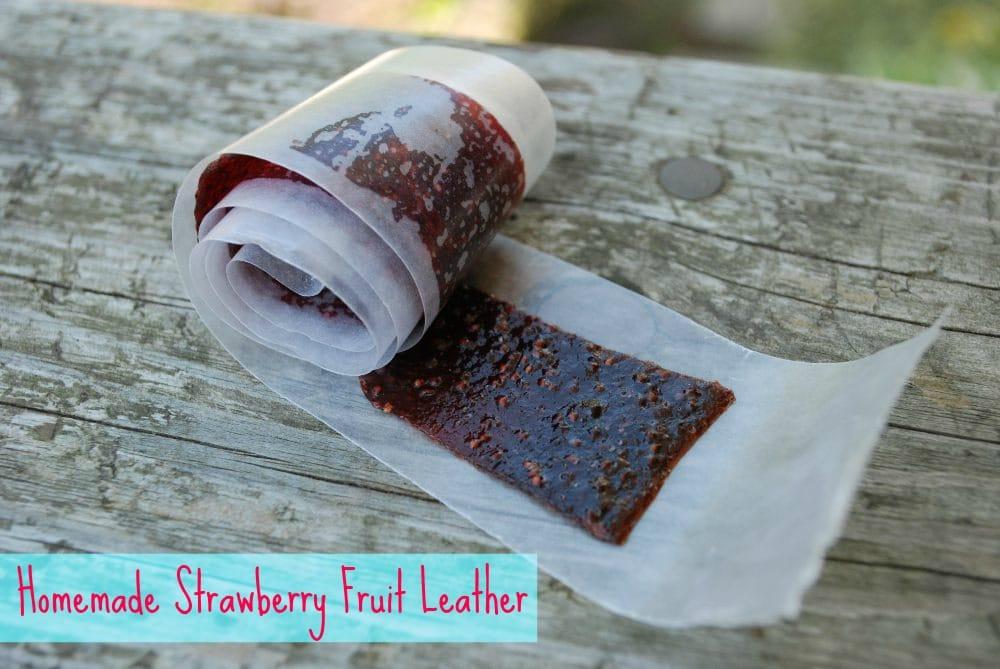Strawberry Fruit Leather