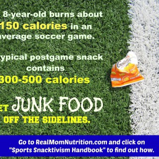 Sports Snacktivism at Real Mom Nutrition