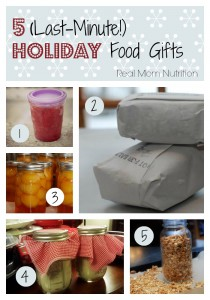 5 (Last-Minute!) Holiday Food Gifts from Real Mom Nutrition