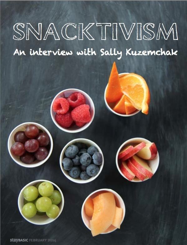Snacktivism: An Interview with Sally Kuzemchak from Real Mom Nutrition
