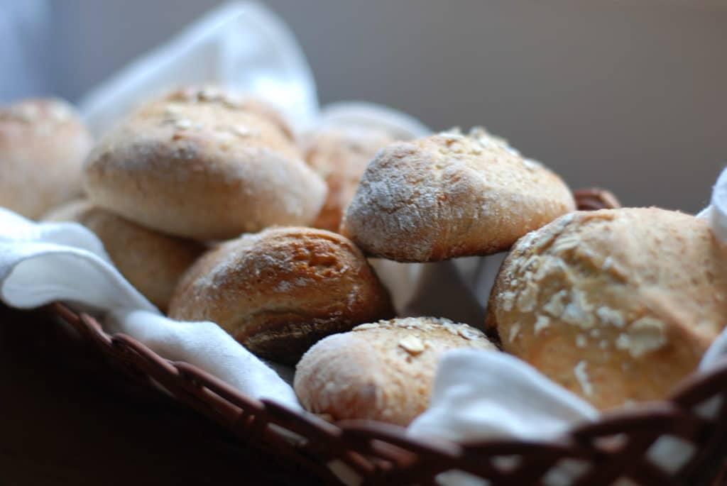 Oatmeal & Yogurt Bread Machine Rolls
