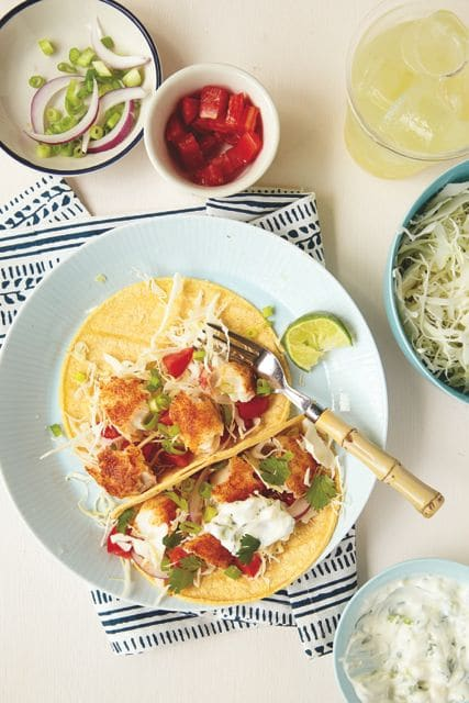 Tilapia Tacos from Real Mom Nutrition