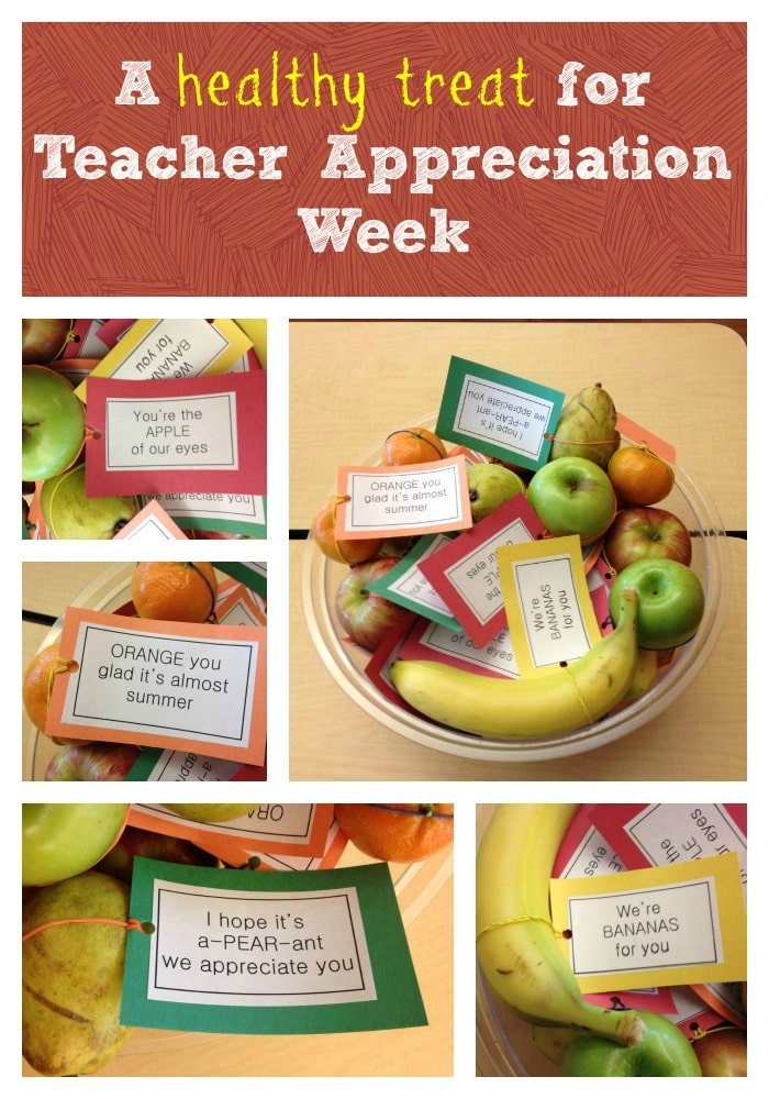 A Healthy Treat for Teacher Appreciation Week