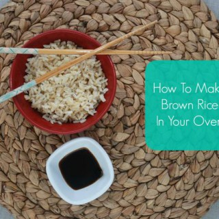 How To Make Brown Rice In Your Oven