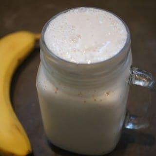 Creamy Dreamy Banana Date Shake