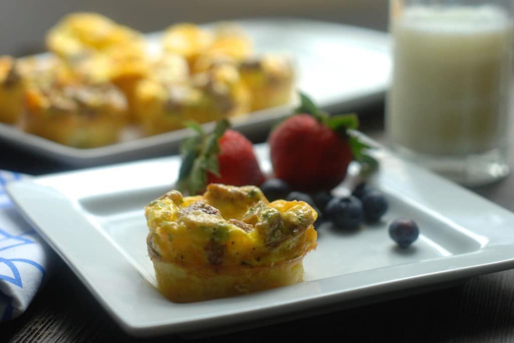 Scrambled Egg Muffins from Real Mom Nutrition