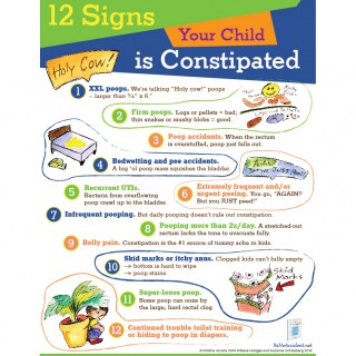 12 Signs Your Kid is Constipated