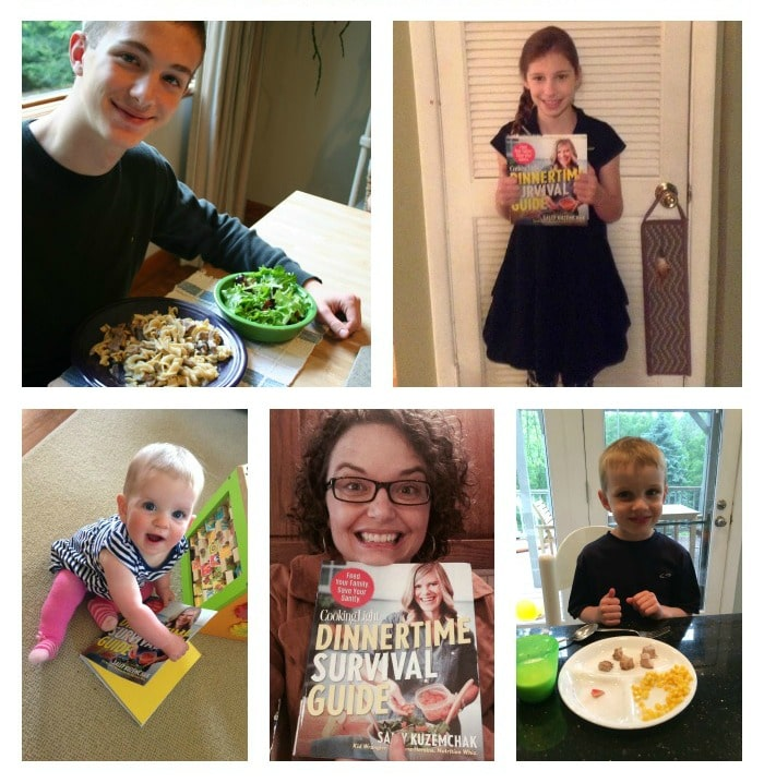 Dinnertime Survival Guide by Real Mom Nutrition