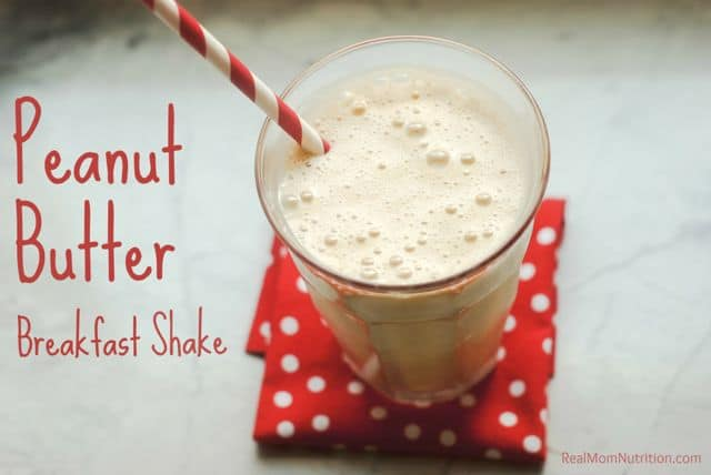 Peanut Butter Breakfast Shake