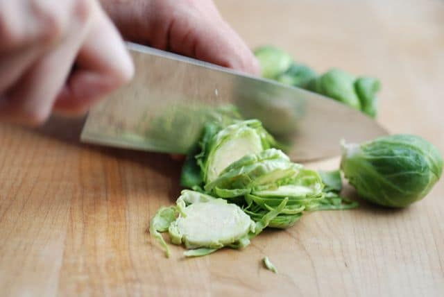 How to slice Brussels sprouts -- Real Mom Nutrition