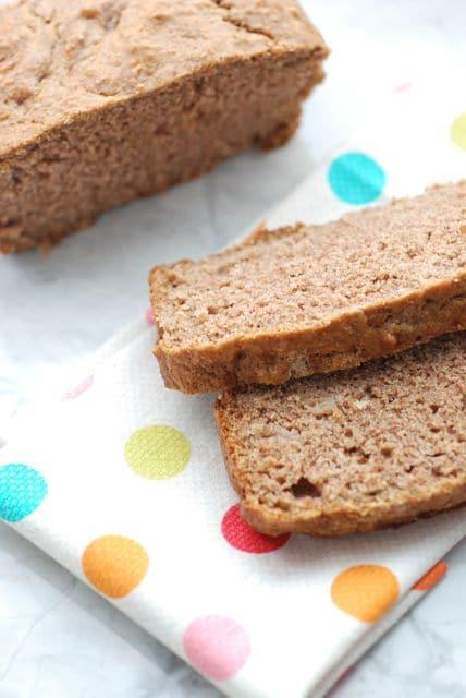 100 Days of Real Food Cinnamon Raisin Quick Bread