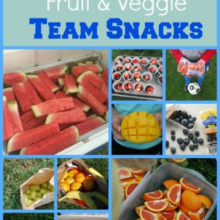 20 Fruit & Veggie Team Snacks