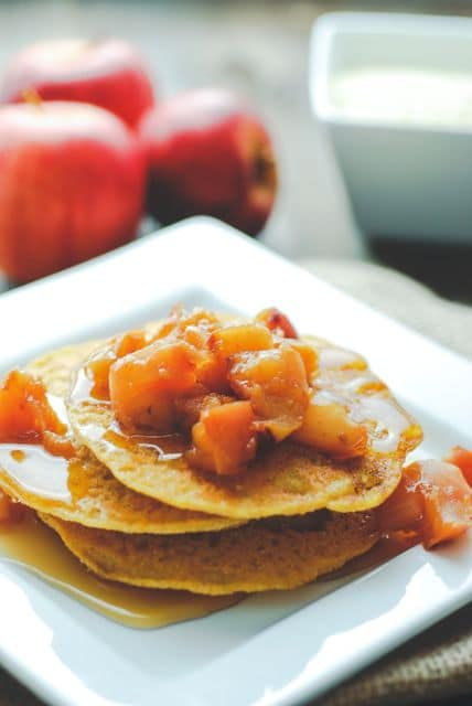Spiced Johnnycakes from Real Mom Nutrition