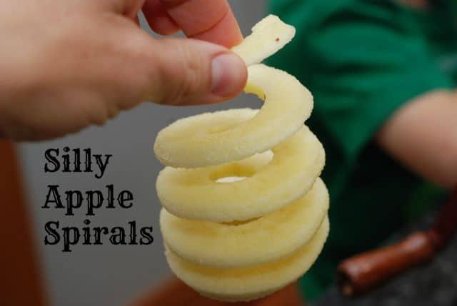 Apple Spirals: Healthy Treats for Classroom Halloween Parties