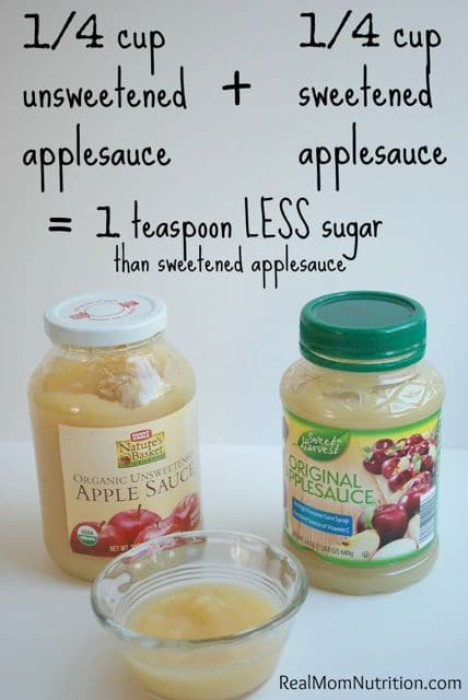 5 Ways to Reduce Sugar In Your Child's Favorites Instantly! from Real Mom Nutrition