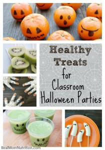 Healthy Treats for Classroom Halloween Parties