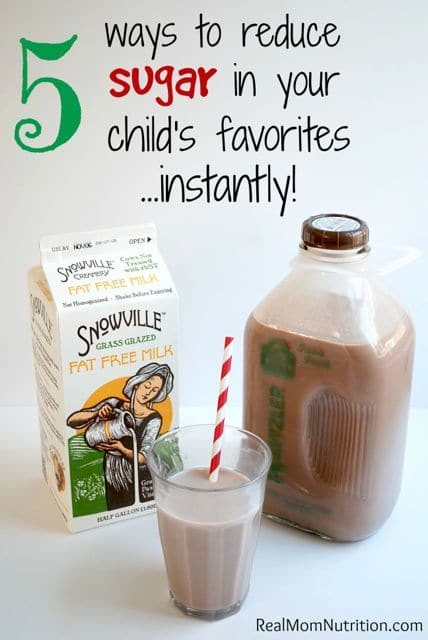 5 Ways to To Reduce Your Child's Sugar Intake Instanty!