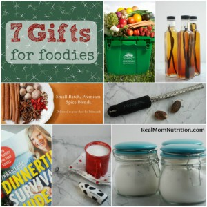 7 Gifts for Foodies from Real Mom Nutrition