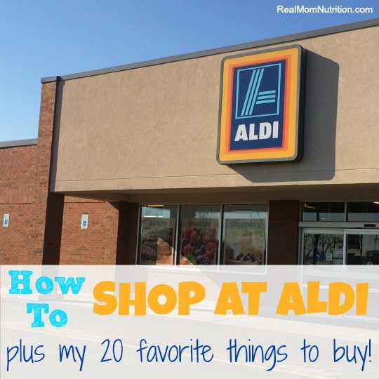 How to Shop at ALDI + My 20 Favorite Things to Buy! - Real