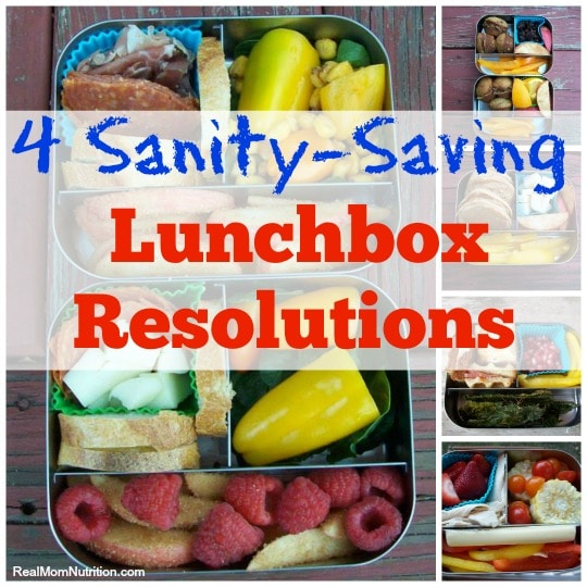 Sanity-Saving Lunchbox Resolutions--Real Mom Nutrition