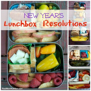 New Year's Lunchbox Resolutions at Real Mom Nutrition