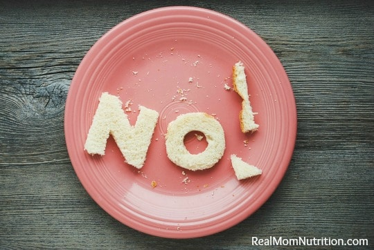 "Why I'm Tired of ""Foods You Should Never Eat"" Lists by Real Mom Nutrition"