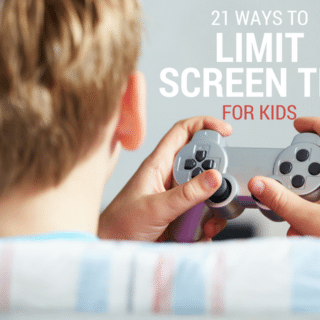 21 Ways to Limit Screen Time for Kids