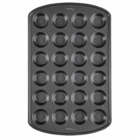 Mini Muffin and Cupcake Pan, 24-Cup