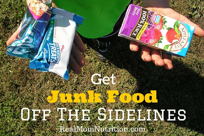 Get Rid of Junk food Team Snacks