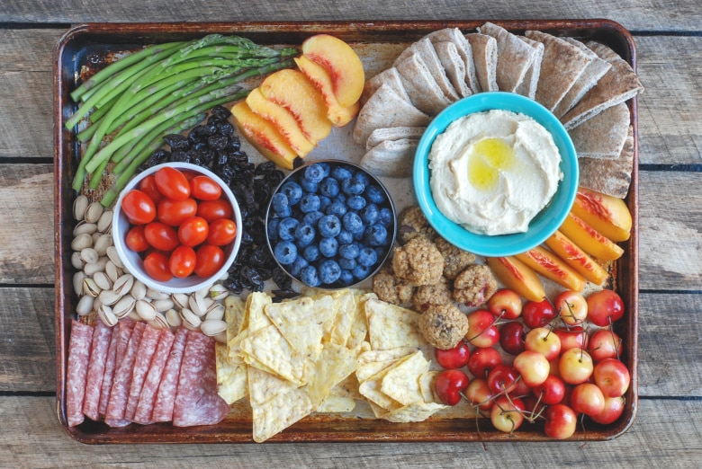 How To Make an ALDI Summer Snack Board - Real Mom Nutrition