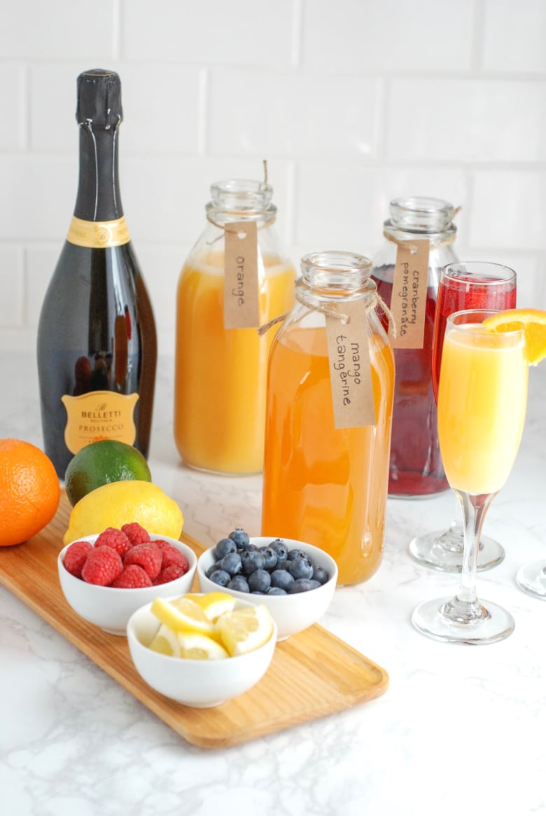 All About Buying Wine at ALDI (+ DIY Mimosa Bar) - Real Mom Nutrition