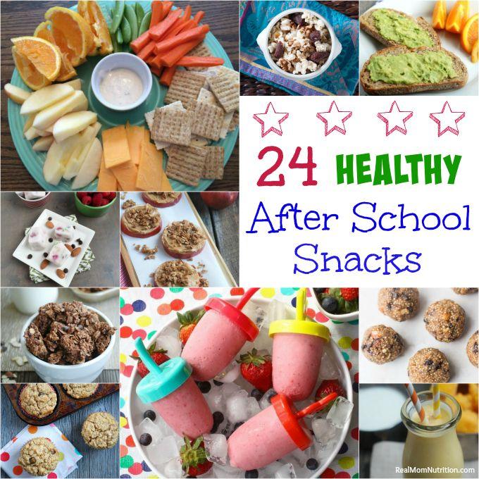24 healthy after school snacks real mom nutrition for Easy after school snacks for kids to make