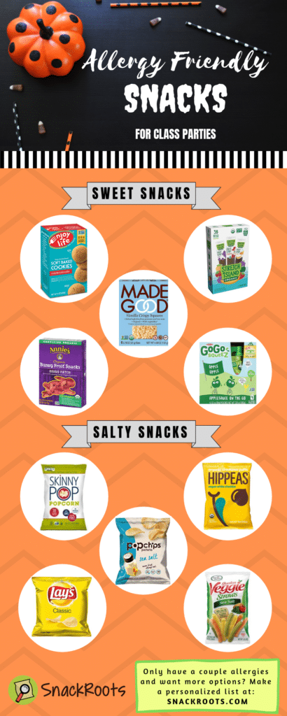 Allergy Friendly Party Snacks