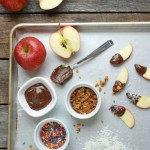 Chocolate Dipped Apple Slices -- Real Mom Nutrition