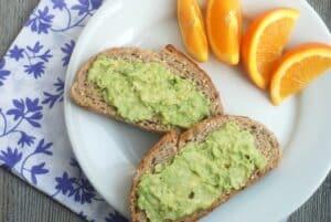 how to eat avocado plain