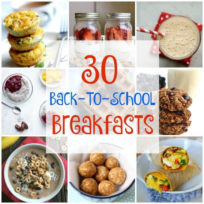 Back to School Breakfasts