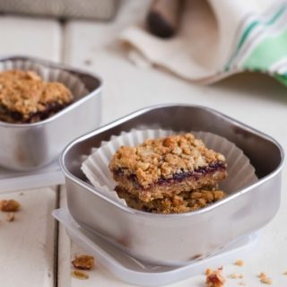 Lunchbox Oatmeal Bars