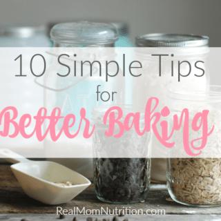 10 Tips for Better Baking