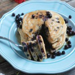 Wild Blueberry Pancakes -- Real Mom Nutrition