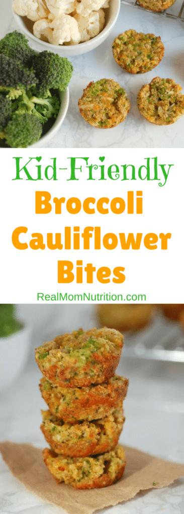 Broccoli Cauliflower Bites